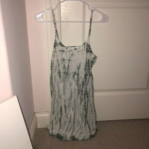 Forever21 Green Tye Die Dress